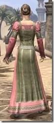 Bardic Tavern Singer's Dress Female Rear