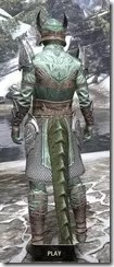 Divine Prosecution Light - Argonian Male Shirt Rear