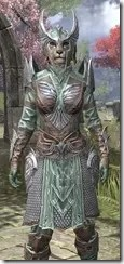Divine Prosecution Light - Khajiit Female Shirt Close Front