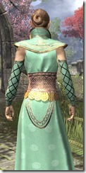 Jarl Justice's Formal Frock Dyed Close Rear
