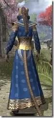 Jarl Justice's Formal Frock Khajiit Female Rear