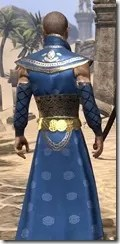 Jarl Justice's Formal Frock Male Close Rear