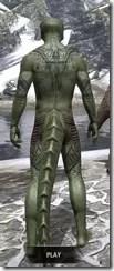 Alftand Glacial Body Tattoos Argonian Male Rear