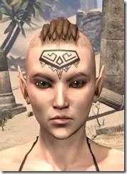 Alftand Glacial Face Tattoos Female Front