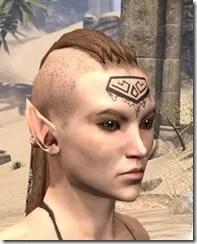 Alftand Glacial Face Tattoos Female Side