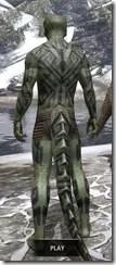 Dwarven Centurion Body Tattoos Argonian Male Rear