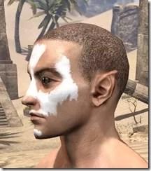 Ghost Goblin Face War Paint Male Side