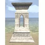 Alinor Pedestal, Shrine