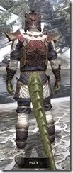 Anequina Heavy - Argonian Male Rear