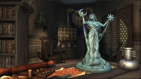 Statuette: Azura, Moon and Star
