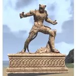 Cathay-Raht Statue, Warrior