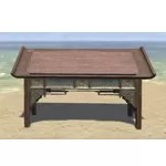 Elsweyr Writing Desk, Elegant Wooden