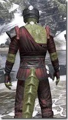 Jode & Jone Medium - Argonian Male Close Rear