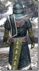 Noble Clan Chief - Argonian Male Close Rear