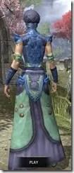 Pellitine Light - Dyed Robe Rear