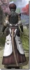 Pellitine Light - Khajiit Female Robe Rear