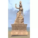 Tojay Statue, Dancer