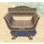 Elsweyr Armchair, Low-Backed Wooden