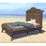 Elsweyr Bed, Rumpled Elegant Single