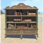 Elsweyr Bookshelf, Short Elegant Full