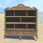 Elsweyr Bookshelf, Short Elegant