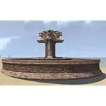 Elsweyr Fountain, Four Lions