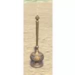 Elsweyr Incense Burner, Tall Brass