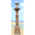 Elsweyr Lightpost, Ancient Stone