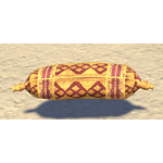 Elsweyr Pillow, Gold-Ruby Roll