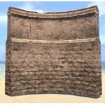 Elsweyr Wall, Curved Masonry
