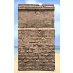 Elsweyr Wall, Short Masonry
