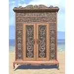 Elsweyr Wardrobe, Wide Elegant Wooden