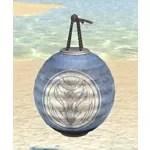 Hakoshae Lantern, Blue