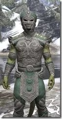 Pellitine Homespun - Argonian Male Shirt Close Front