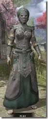 Pellitine Homespun - Khajiit Female Robe Front