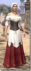 Tavern Maid - Female Front