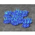 Plant Cluster, Azureblight Scaleleaf