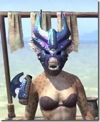 Opal Troll King - Khajiit Female Front