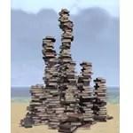 Books, Towering Pile