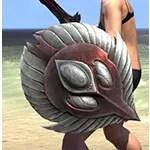 Ancestral High Elf Ruby Ash Shield