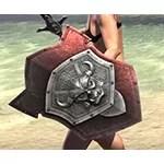 Ancestral Orc Ruby Ash Shield