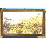 Elsweyr Landscape Painting, Gold