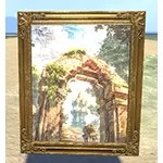 Painting of Khajiiti Arch, Gold