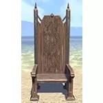 Solitude Armchair, High-Backed Noble