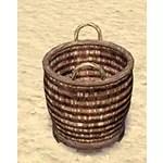 Solitude Basket, Wicker Handles