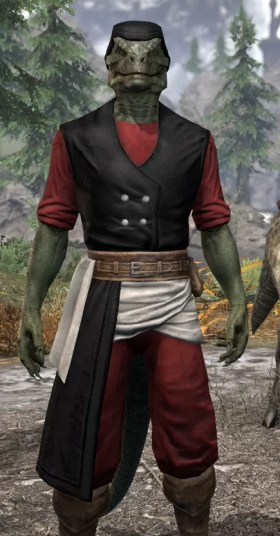 Innkeeper - Argonian Male Close Front