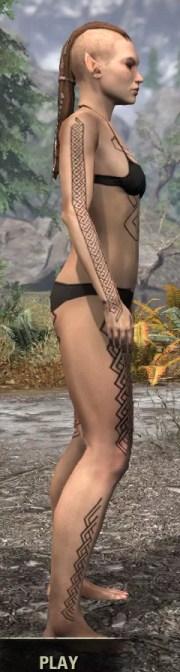 Karthwatch Guardian Body Tattoo - Female Righj