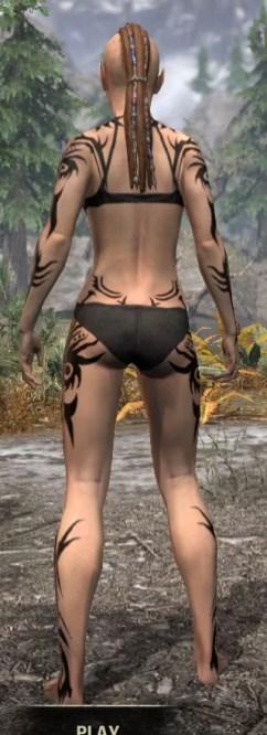 Umbral Snarl Body Markings - Female Rear