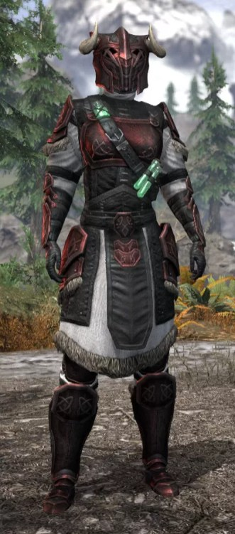 Hazardous Alchemy Heavy - Khajiit Female Front