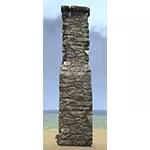 Solitude Post, Stone Wall
